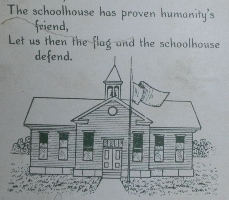 Frognot School House Drawing